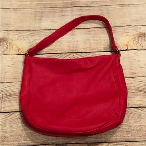 thirty-one Midway Hobo Purse Very Cherry Pebble